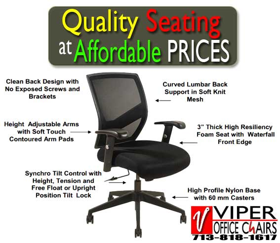 adjustable comfortable ergonomic office chairs